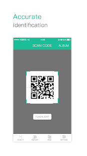 Accurate scanning of QR code for pc