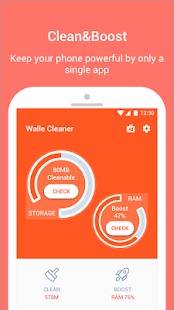 Walle Cleaner- clean, boost & CPU cooler for pc