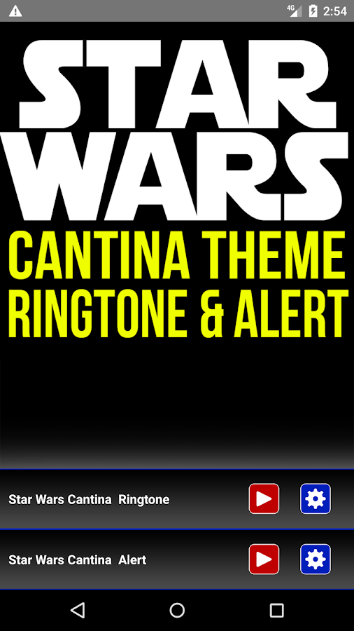 Star Wars Cantina Theme Ringtone und Alert android apps download