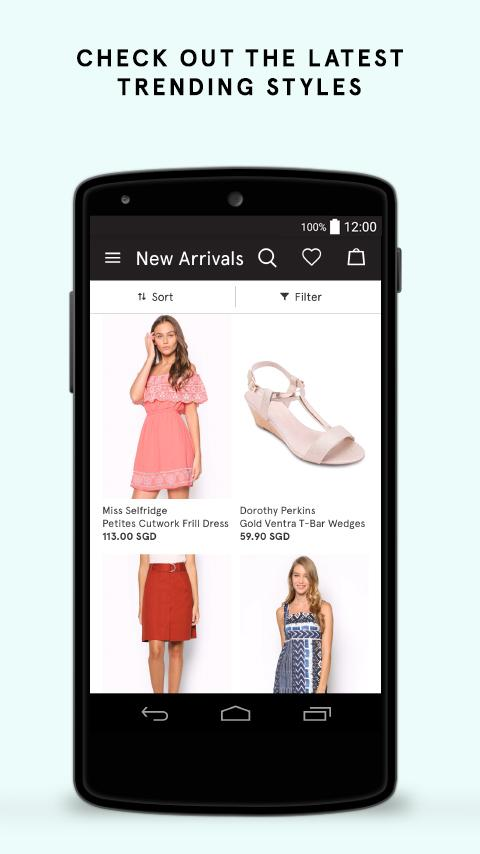 ZALORA Top Fashion Shopping Screenshot 1