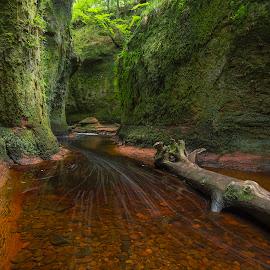 Devil's Pulpit  by Maria Alexandra Abrunhosa - Landscapes Caves & Formations ( scotland, pulpit, mountains, highlands, river )