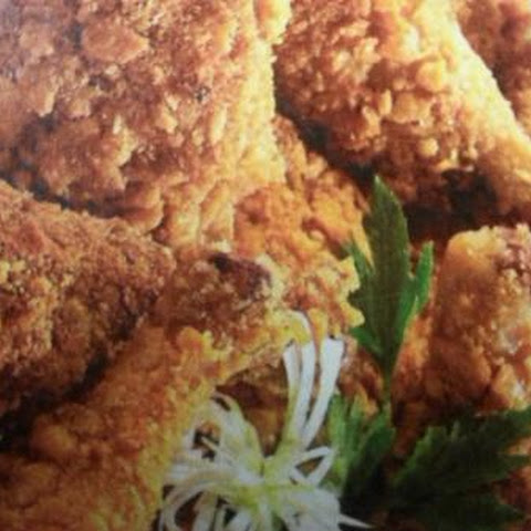 OMG-oven fried chicken