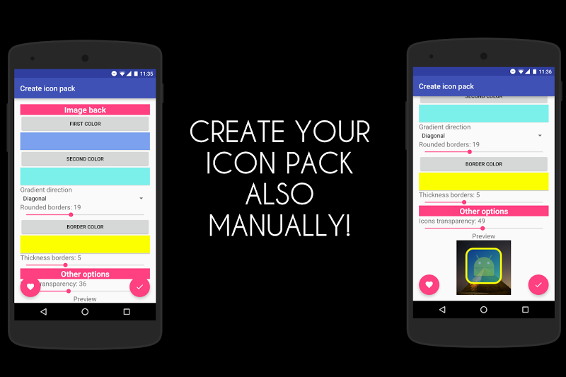 Icon Pack Generator - Create your own icon pack! Screenshot 2