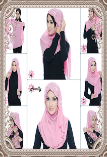Hijab Style Camera Tutorial - screenshot