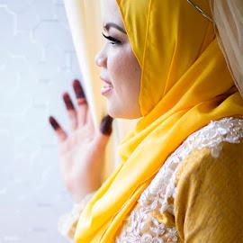 Malay Wedding by Razi Masdiana - Wedding Bride
