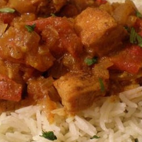 Indian Chicken Bhuna Masala Curry