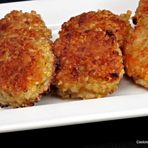 Kid Friendly Quinoa Fritters