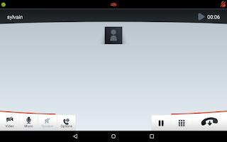 Screenshot of Linphone Video