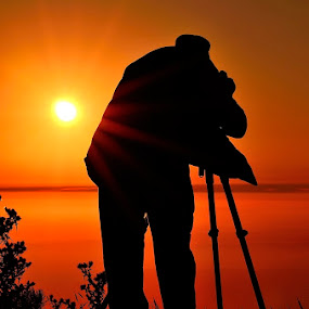 Making of ... by Rui Catarino - Landscapes Sunsets & Sunrises ( serra da lousã, sunset, lousã, sol, photographer, taking photos, pds, pwc75 )