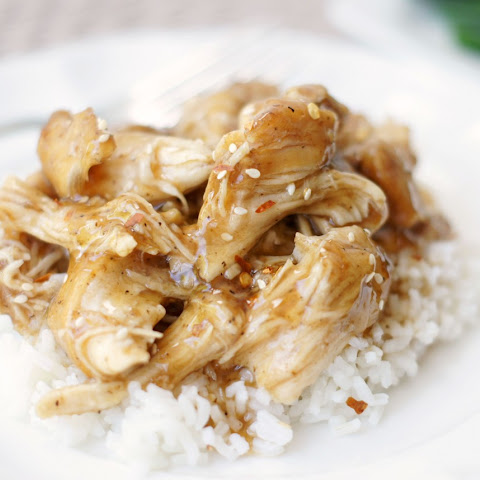 Slow Cooker Brown Sugar & Garlic Chicken