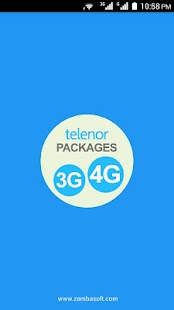 Telenor 3G Packages - screenshot
