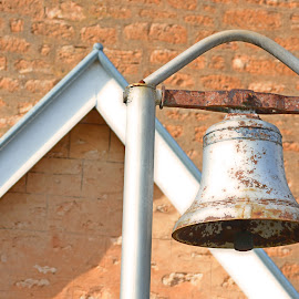 History by Kamila Romanowska - Artistic Objects Antiques ( history, bell, old, church, vintage, australia, mclaren vale, rust )