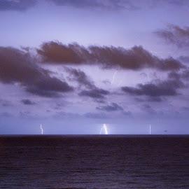 storm 2 by Jose Maria Vidal Sanz - Landscapes Cloud Formations ( seascape, storm )