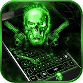 App Fury skull keyboard Theme APK for Kindle