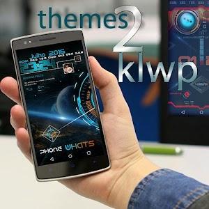 Cover art KLWP 2 Themes Futuristic