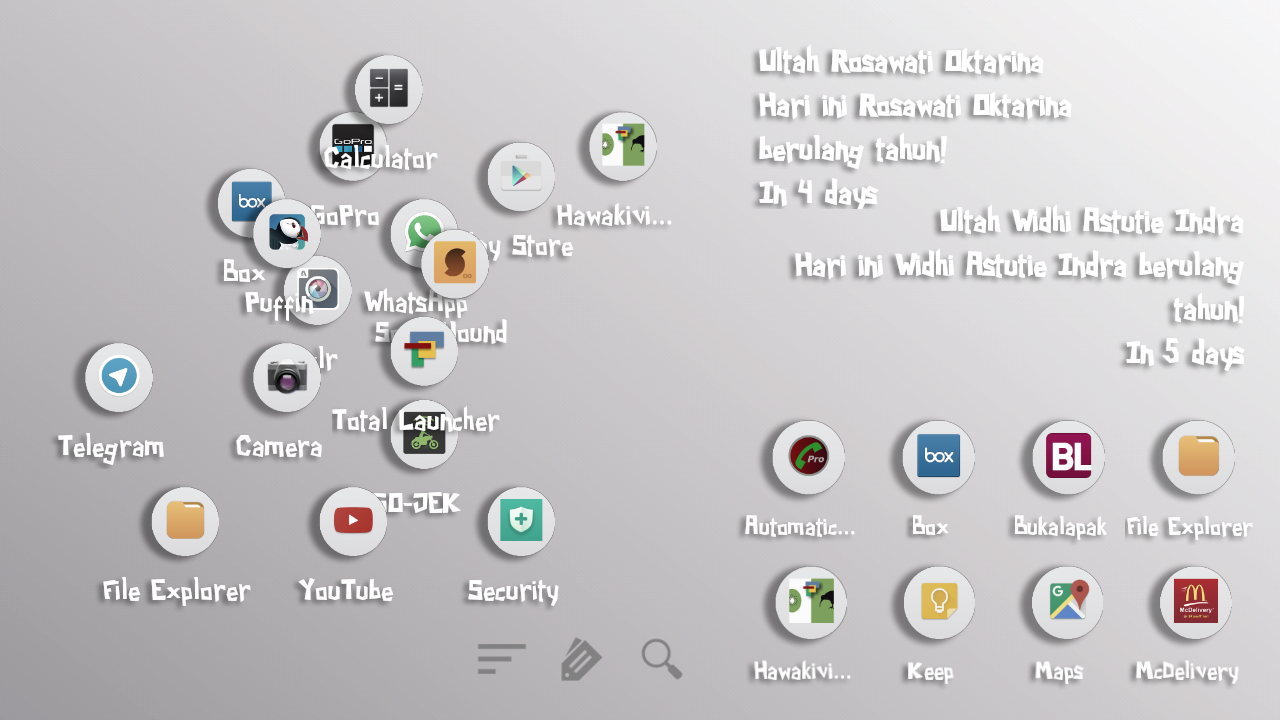 Papercity for Total Launcher Screenshot 3