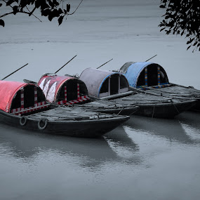 by Sudip Chowdhury - Transportation Boats