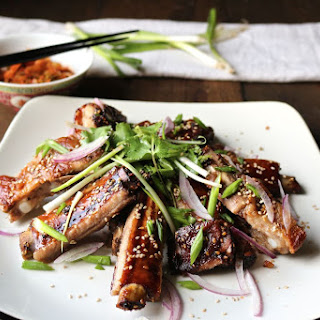 Sticky Honey Garlic Spare Ribs