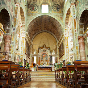 catholic church by Giancarlo Ferraro - Buildings & Architecture Places of Worship ( building, old, church architecture )