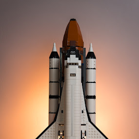 Lego Space Shuttle by Horizon Photo - Products & Objects Technology Objects ( aerospace, nasa, lego space shuttle, toys, space shuttle, lego )