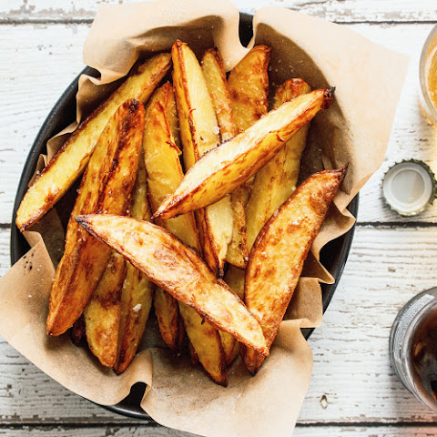 Sea Salt And Balsamic Vinegar Wedges