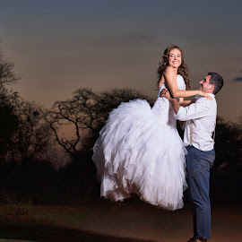 by Junita Fourie-Stroh - Wedding Bride & Groom