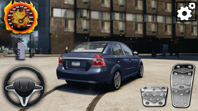 Aveo Driving City Simulator apk screenshot