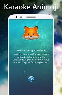 Animoji Karaoke 3D For phone X 2018 Für PC Windows & Mac