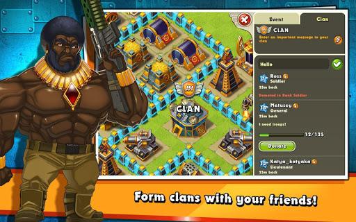 Jungle Heat: War of Clans screenshot 14