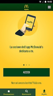 App McDonald's Italia APK for Kindle