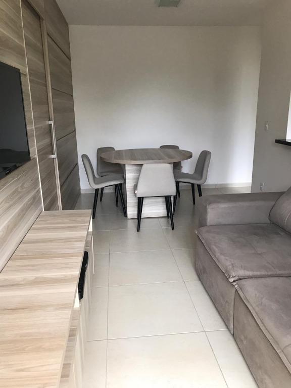 Apartamento com 2 dormitórios à venda, 58 m² por R$ 265.000 - Jardim do Lago - Uberaba/MG