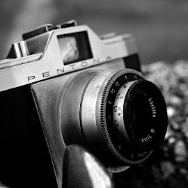 Retro is back by Dragan Dvorski - Novices Only Objects & Still Life ( pentona, novice, black and white, vintage, shadow, retro, black, photography )