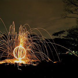 Stell Woll by Bams Cavallera - Instagram & Mobile Android ( #fire #longexposure )