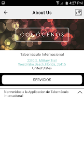 Tabernáculo Internacional - screenshot