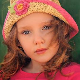 Thoughtful by Cheryl Korotky - Babies & Children Child Portraits
