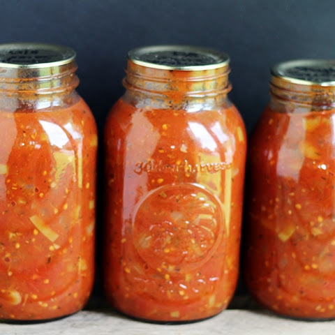 Tangy Spaghetti Sauce – Canning Adventures
