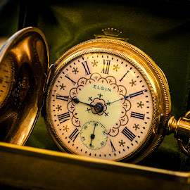 Elgin Time by James Kirk - Artistic Objects Technology Objects ( pocket, watch, gold, elgin, antique )