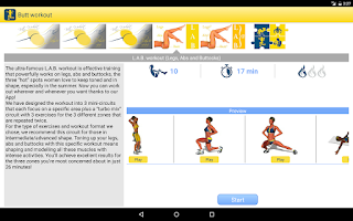 Screenshot of Butt Workout