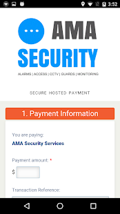 AMA Security - screenshot