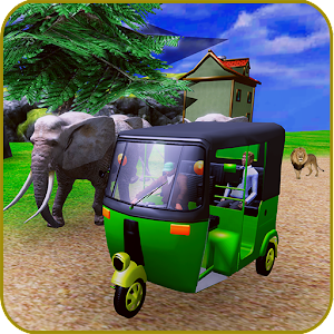 tuk tuk real auto rickshaw simulator drive For PC (Windows & MAC)