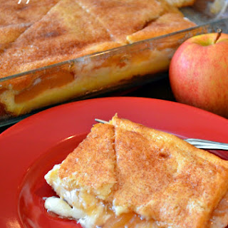 Crescent Apple Cream Cheese Dish