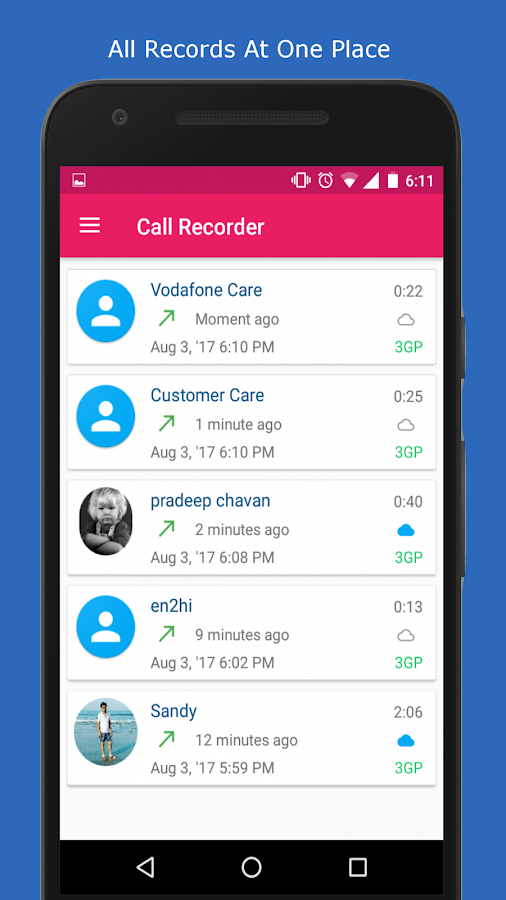 Call Recorder Pro - Record, Hide, Upload Screenshot 4