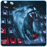 Blood King Lion Horror Keyboard Theme Icon