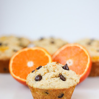 Orange Chocolate Chip Yogurt Muffins