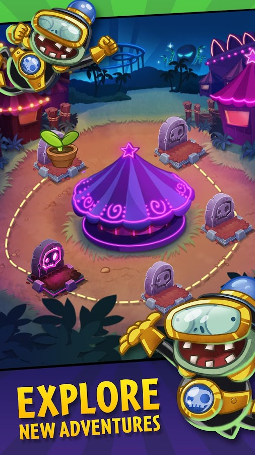 Plants vs. Zombies™ Heroes Screenshot 3