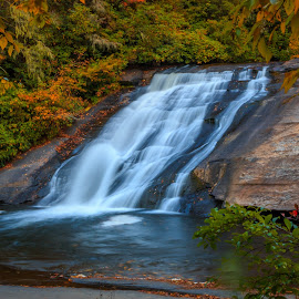Fall Water Fall by Rananjay Kumar - Landscapes Waterscapes ( #landscape, #nature, #outdoor, #water, #flow, #canon, #longexposer )