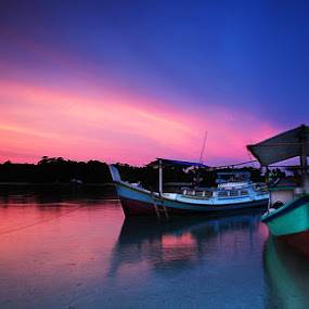 Boat of Belitung by Edo Kurniawan - Transportation Boats