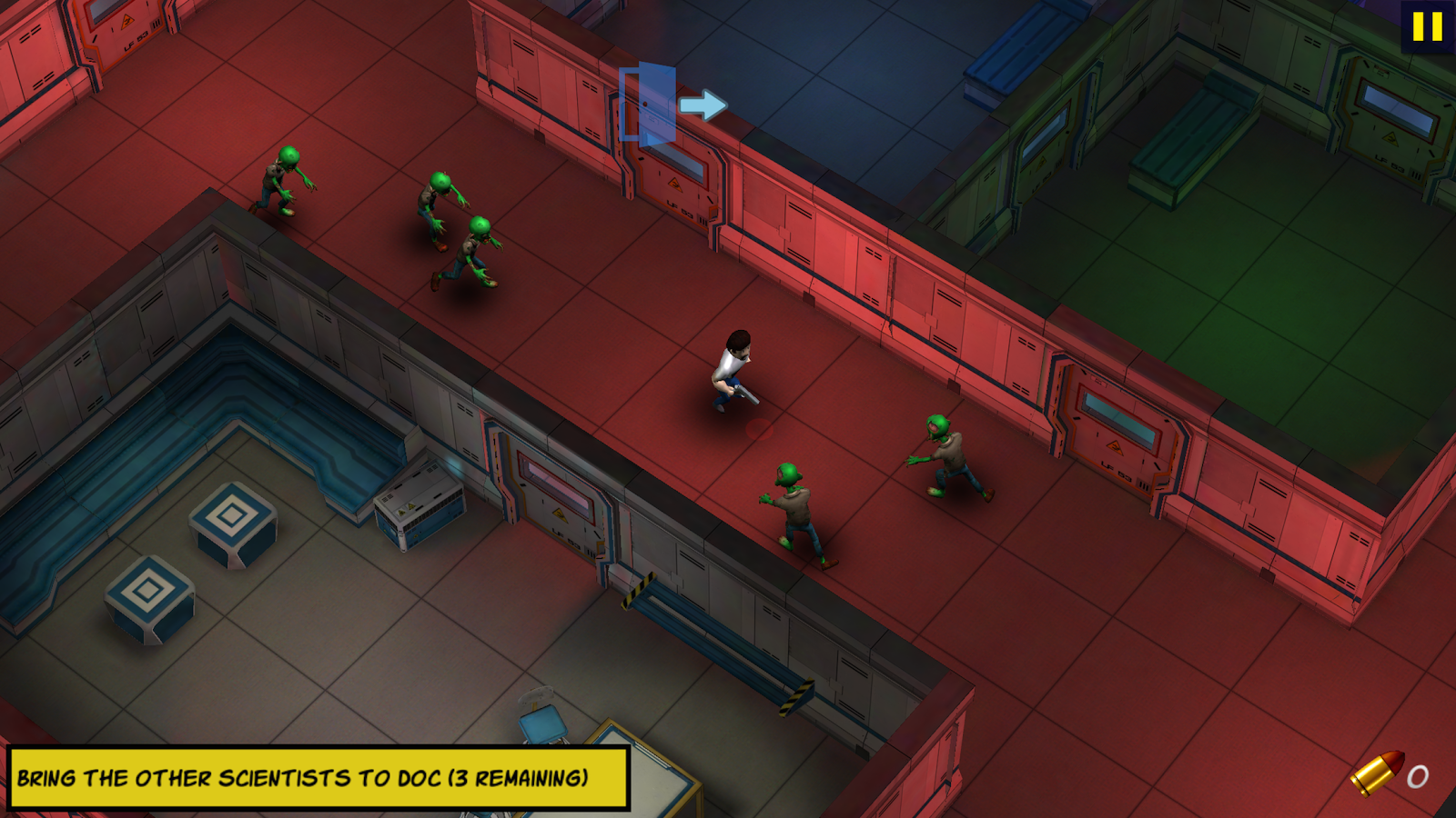 Max Bradshaw: Zombie Invasion Screenshot