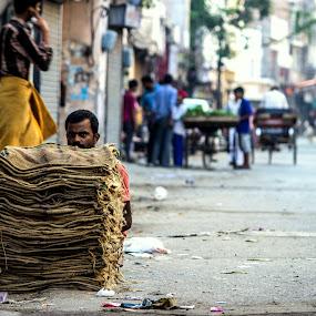 Street by Jatin Malhotra - City,  Street & Park  Street Scenes ( face, street, road, eyes, expressions )