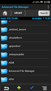 Advanced File Manager - screenshot